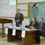 Профессор А.Н. Куликов открывает школу-семинар